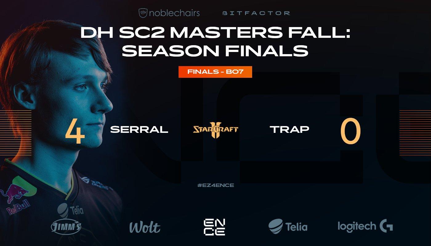serral dreamhack masters fall finals