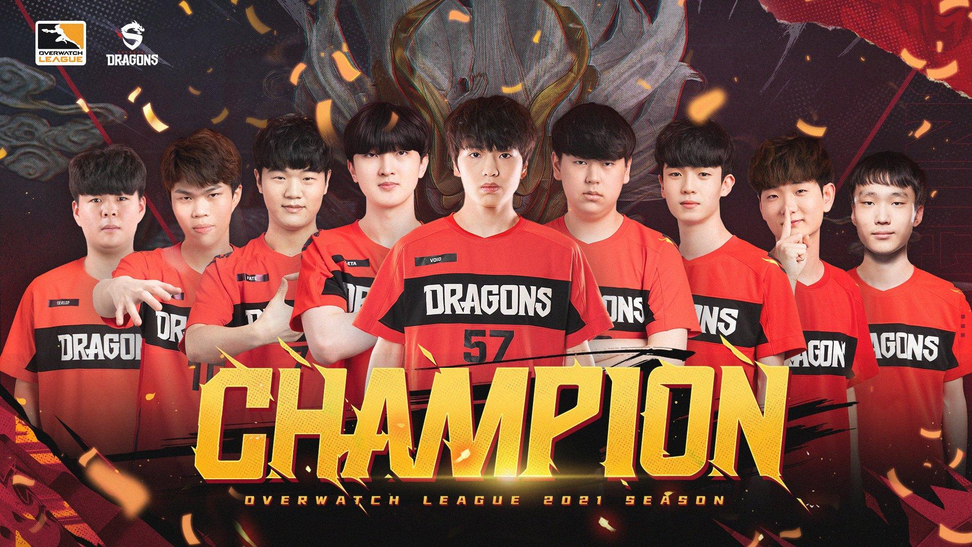 shanghai dragons champions overwatch league 2021